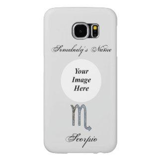 Scorpio Zodiac Symbol Element Samsung Galaxy S6 Cases