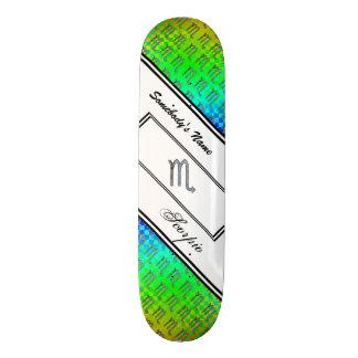 Scorpio Zodiac Symbol Element Skateboard Deck