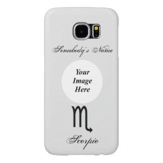Scorpio Zodiac Symbol Standard Samsung Galaxy S6 Cases