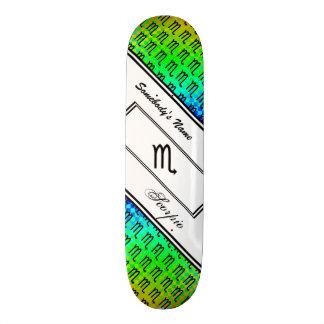 Scorpio Zodiac Symbol Standard Skateboard Deck