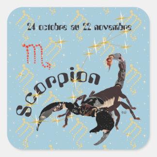 Scorpion 24 22 Autocollant octobre au novembre