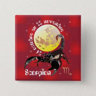 Scorpion 24 oct. outer 22 Nov. Boutons - bath GE Pinback Button