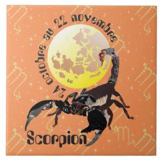 Scorpion 24 octobre outer 22 novembre Carreaux Large Square Tile