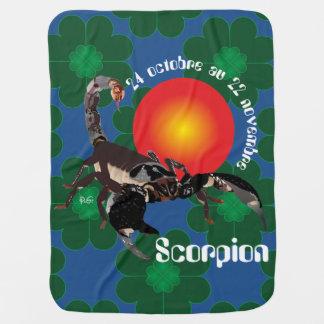 Scorpion 24 octobre outer 22 novembre Couverture b Receiving Blanket