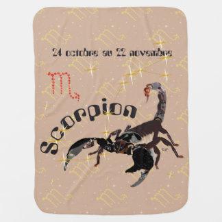 Scorpion 24 octobre outer 22 novembre Couverture Baby Blanket