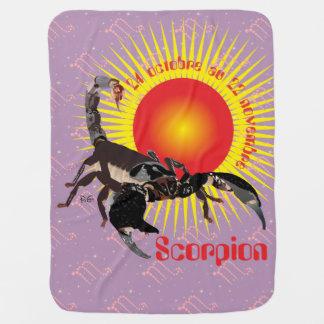 Scorpion 24 octobre outer 22 novembre Couverture Swaddle Blanket