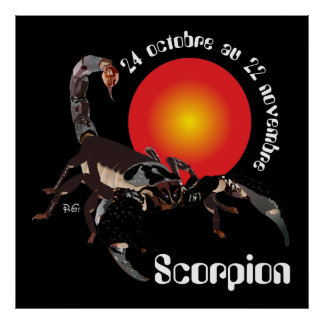 Scorpion 24 octobre outer 22 novembre poster