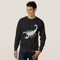 Scorpion Animal Distressed Vintage Look Sweatshirt
