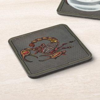 Scorpion Beverage Coaster
