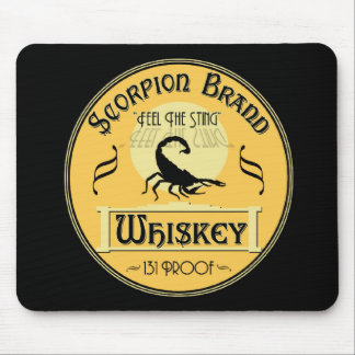 Scorpion Brand Whiskey Mouse Pad