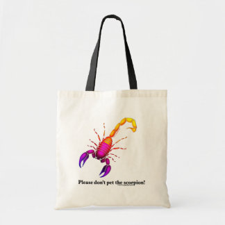 Scorpion Budget Tote Bag