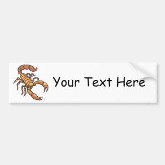 Scorpion Bumper Sticker