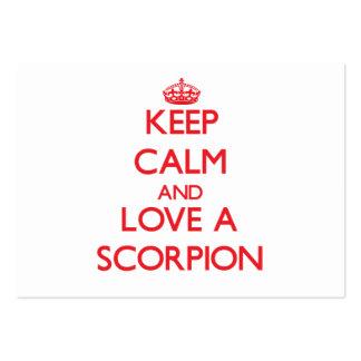 Scorpion Business Card Templates