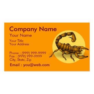 Scorpion Business Card