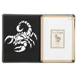 """Scorpion"" iPad Air Covers"