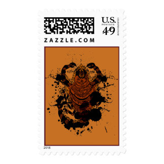 Scorpion charm stamps