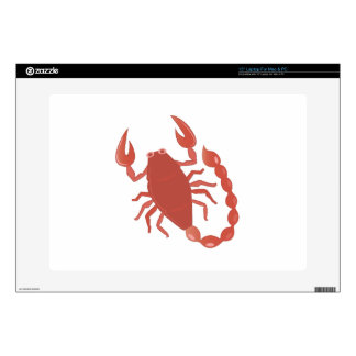 "Scorpion Decals For 15"" Laptops"