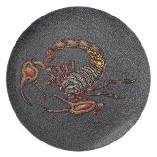Scorpion Dinner Plate