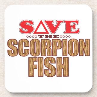 Scorpion Fish Save Coaster