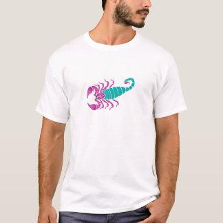 Scorpion Image Purple Teal T-Shirt