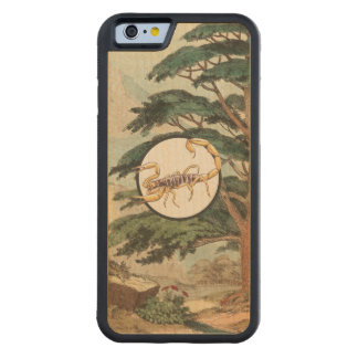 Scorpion In Natural Habitat Illustration Carved® Maple iPhone 6 Bumper