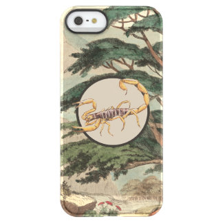 Scorpion In Natural Habitat Illustration Uncommon Permafrost® Deflector iPhone 5 Case