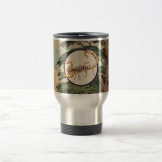 Scorpion In Natural Habitat Illustration Coffee Mugs