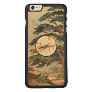 Scorpion In Natural Habitat Illustration Carved® Maple iPhone 6 Plus Case
