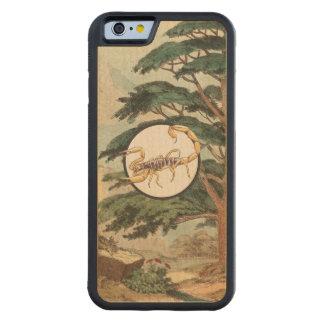 Scorpion In Natural Habitat Illustration Carved® Maple iPhone 6 Bumper Case