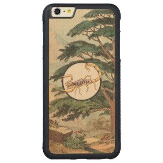 Scorpion In Natural Habitat Illustration Carved® Maple iPhone 6 Plus Bumper