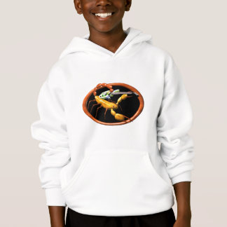 Scorpion playing guitar  friendship gifts hoodie