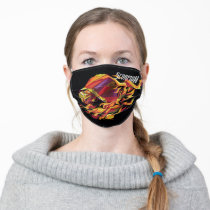 Scorpion Polygonal Graphic Adult Cloth Face Mask