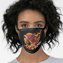 Scorpion Polygonal Graphic Face Mask