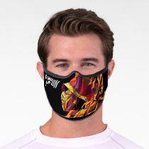 Scorpion Polygonal Graphic Premium Face Mask
