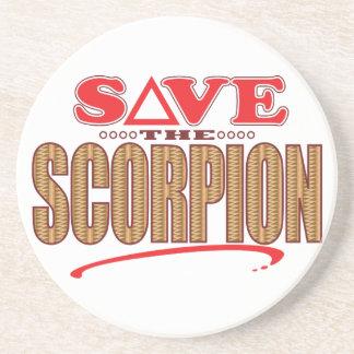 Scorpion Save Drink Coaster