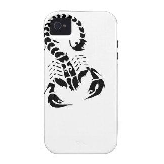 Scorpion Scorpio zodiac horoscope tribal tattoo Vibe iPhone 4 Cover