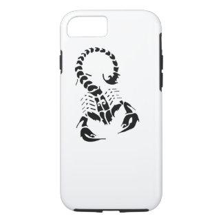 Scorpion Scorpio zodiac horoscope tribal tattoo iPhone 7 Case