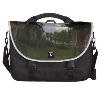 Scorpion Shaped Coud In The Woods Laptop Bags