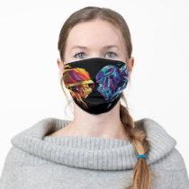 Scorpion & Sub-Zero Polygonal Graphic Adult Cloth Face Mask