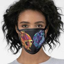Scorpion & Sub-Zero Polygonal Graphic Face Mask