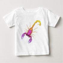 Scorpion Watercolor Baby T-Shirt