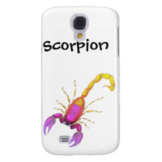 Scorpion Watercolor Samsung S4 Case