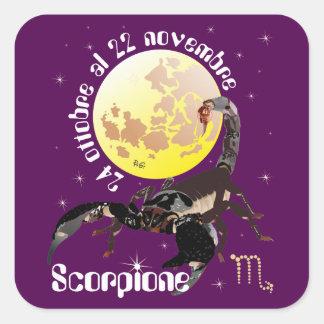 Scorpione 24 al ottobre 22 Etichetta novembre