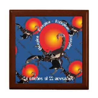 Scorpione 24 ottobre Al 22 Nov. Confezione regalo Jewelry Box