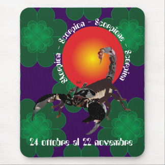 Scorpione Tappetini by mouse Mouse Pad