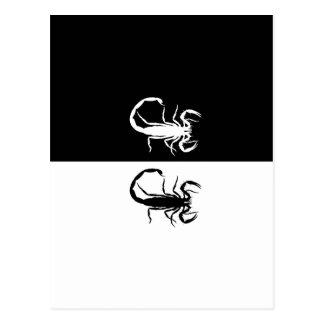 scorpions postcard