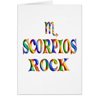 Scorpios Rock Card