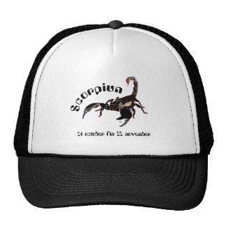 Scorpiun 24 more october fin 22 November Cap Trucker Hat