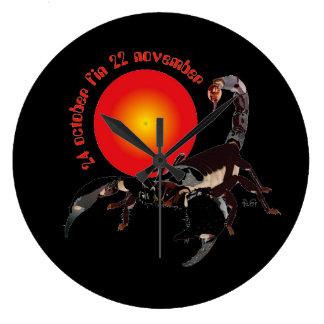 Scorpiun 24 more october fin 22 November clock