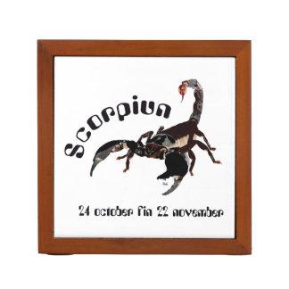 Scorpiun 24 more october fin 22 November pin owner Pencil/Pen Holder
